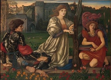Burne Jones The Love Song MMA (הגדל)
